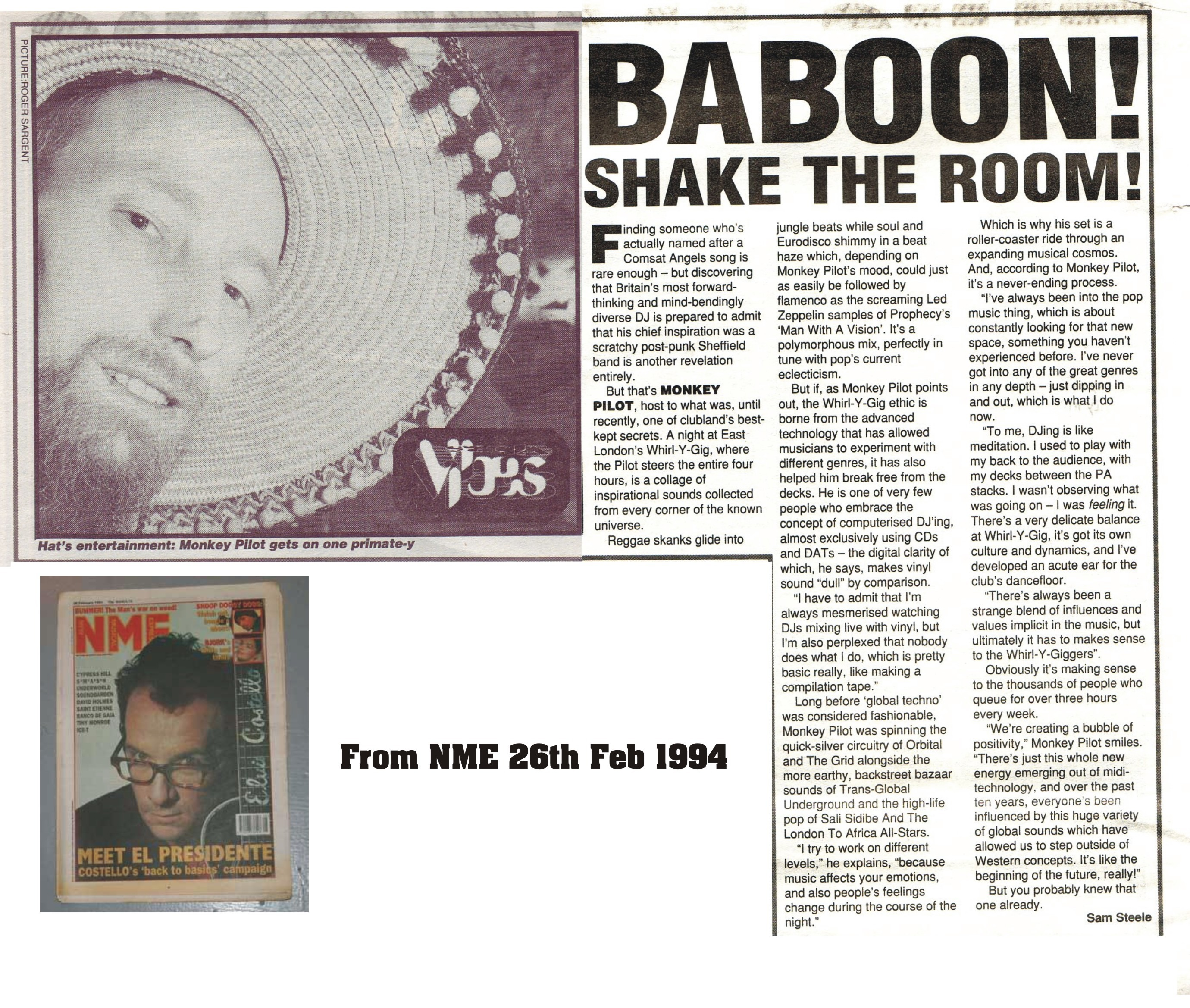 Babbon Shake the Room