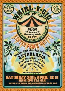 astralasia at easter peace party