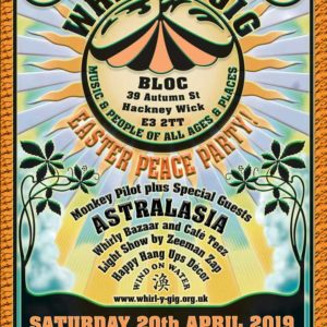 Whirl-y-Gig Easter Peace Party 20th April 2019