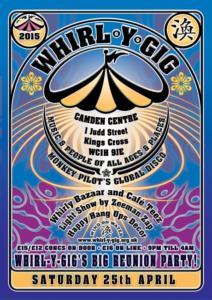 Whirl-Y-Gig Saturday 25th April 2015