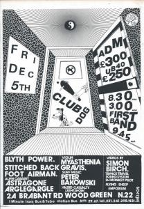 Club Dog Dec 1986