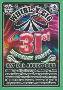Whirl-y-Gig Aug 2012