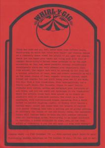 Whirl-y-Gig Press 1998