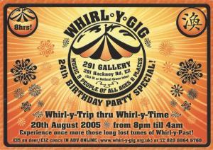 Whirl-y-Gig Aug 2005