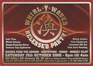 Whirl-y-Gig Oct 2005
