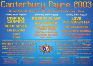 Whirl-y-Gig Canterbury Fayre 2003