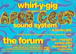 Whirl-y-Gig The Forum September 1997